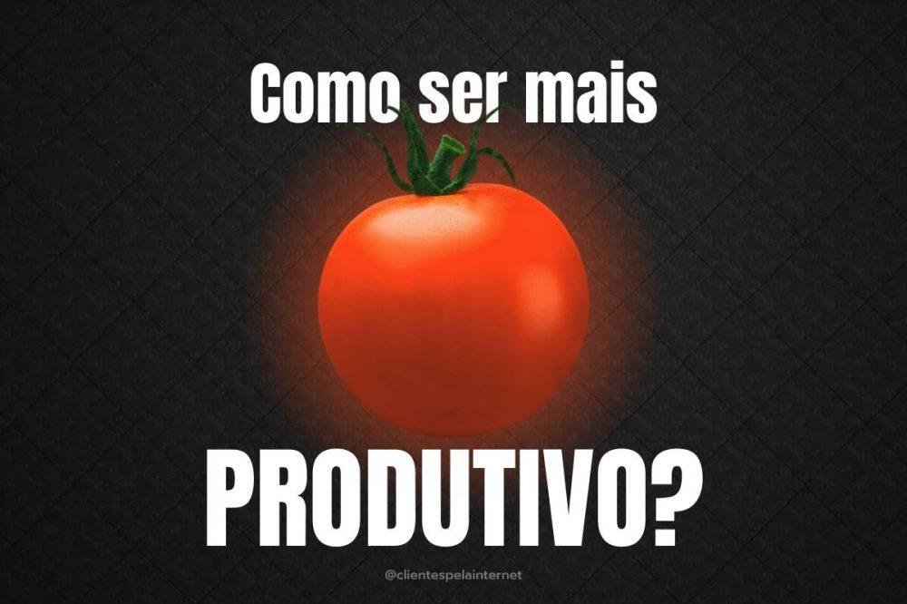 Técnica Pomodoro: Como ser mais produtivo