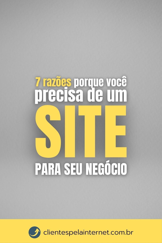 Dicas para Vender mais_ 7 razões porque você precisa de um site para seu negócio