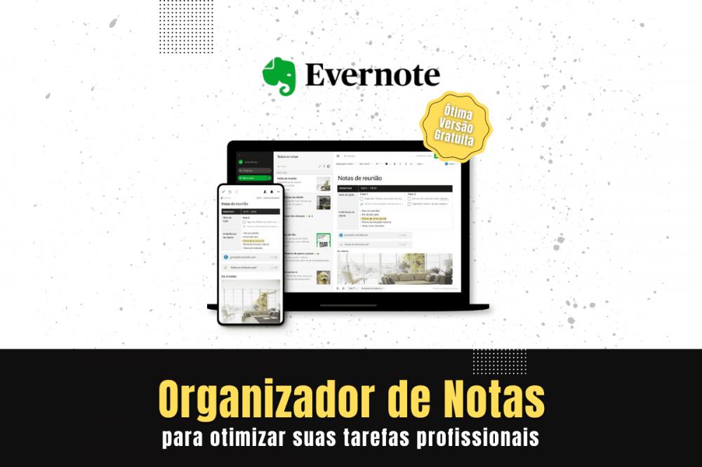 Evernote a ferramenta online Organizador de Notas